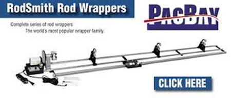 rod wrapping machine