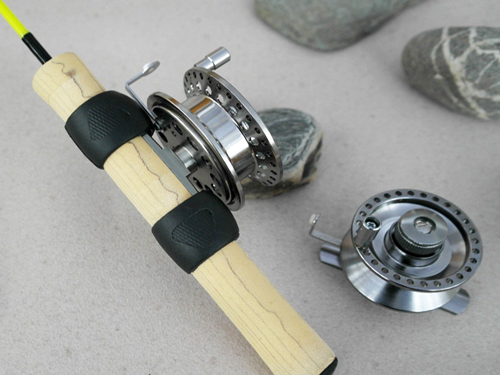 Hilevel ice fishing reel 600 for In line ice fishing reel
