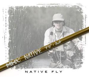"MHX Native Fly Rod Blank 7'6"" #3 4-del"
