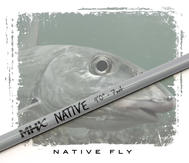 MHX Native Fly Rod Blank 9´ #7 4-del