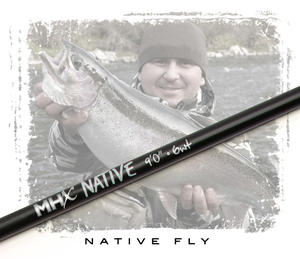 MHX Native Fly Rod Blank 9´ #6 4-del