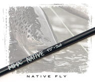 MHX Native Fly Rod Blank 9´ #5 4-del